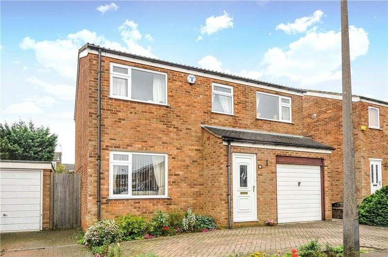 4 Bedrooms Detached House for sale in Aldene Drive, Hanslope, Milton Keynes, Buckinghamshire