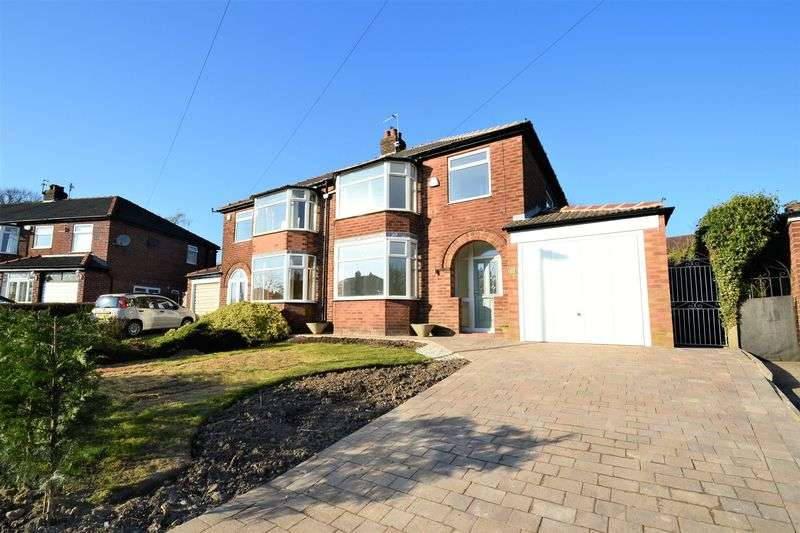 3 Bedrooms Semi Detached House for sale in Maple Grove, Worsley