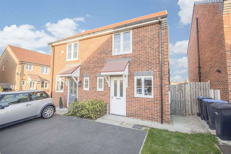 2 Bedrooms Semi Detached House for sale in Transporter Way, Longlands, Middlesbrough, TS4 2GD