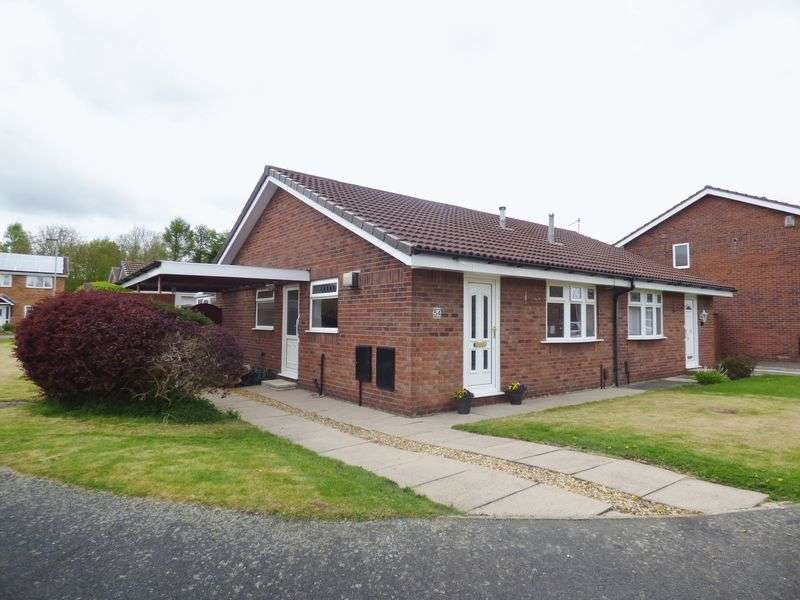 2 Bedrooms Semi Detached Bungalow for sale in Holyhead Close, Warrington