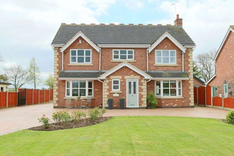 4 Bedrooms Detached House for sale in Woore Road, Buerton