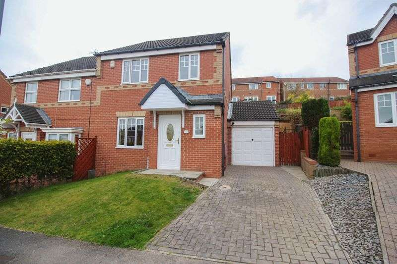 3 Bedrooms Semi Detached House for sale in Valley Crescent, Blaydon