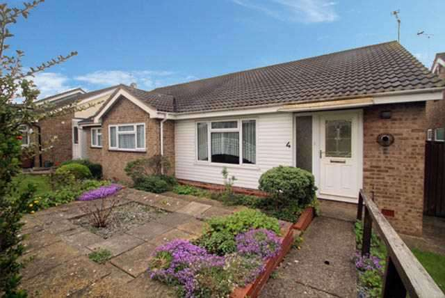 2 Bedrooms Semi Detached Bungalow for sale in Woodcote, Stowmarket