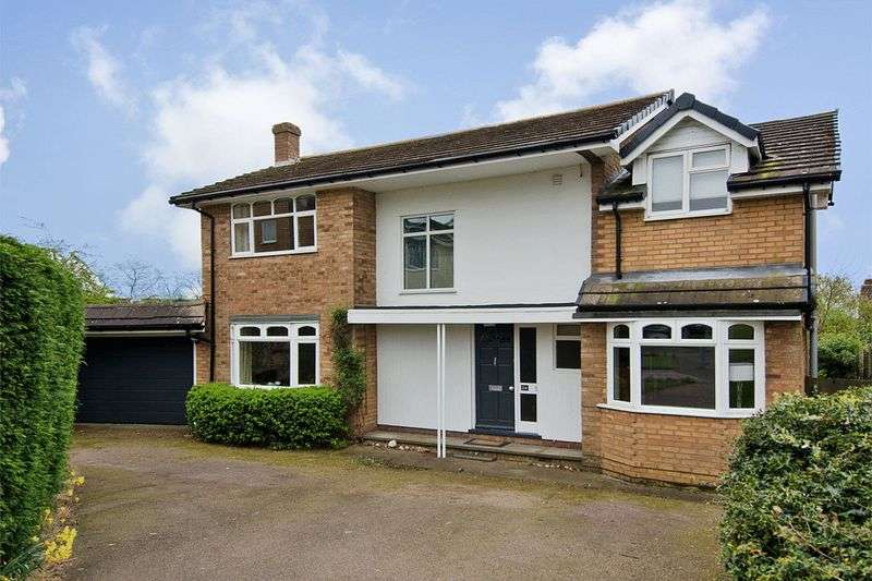4 Bedrooms Detached House for sale in Hillside, Lichfield