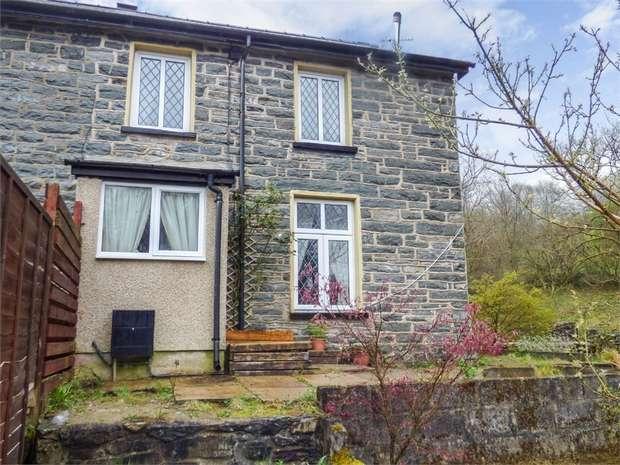 2 Bedrooms End Of Terrace House for sale in Bronddwyryd, Blaenau Ffestiniog, Gwynedd