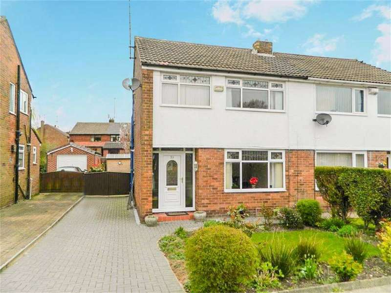 3 Bedrooms Semi Detached House for sale in Shawfield Lane, Rochdale, Norden, Lancashire