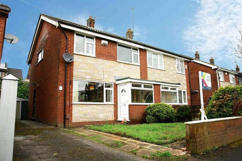 3 Bedrooms Semi Detached House for sale in 19 Fairway Crescent, Royton