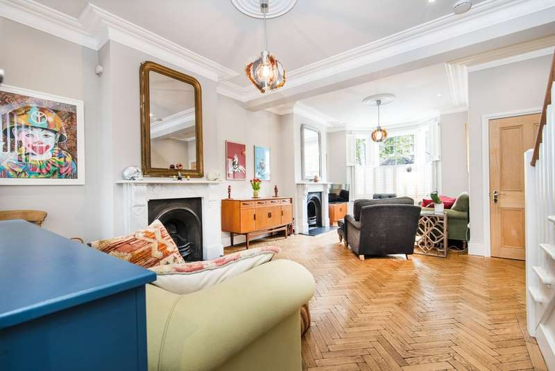 4 Bedrooms Terraced House for sale in Victor Road, Kensal Green NW10