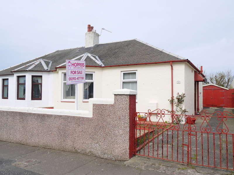 2 Bedrooms Semi Detached Bungalow for sale in Lawson Street, Ayr, KA8