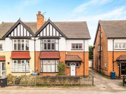5 Bedrooms Semi Detached House for sale in Sandringham Avenue, West Bridgford, Nottingham, Nottinghamshire