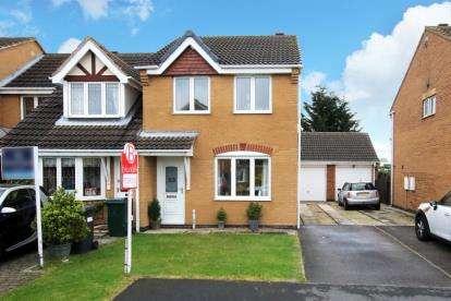 3 Bedrooms Semi Detached House for sale in Springwood Close, Branton, Doncaster