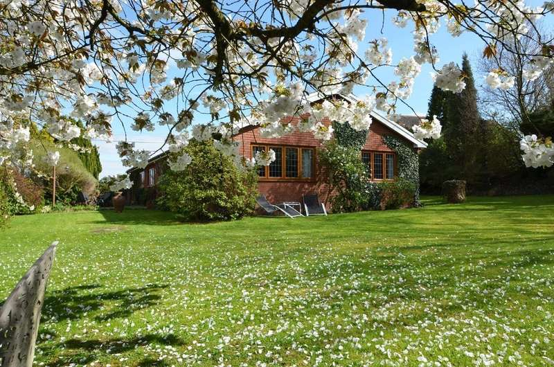 4 Bedrooms Detached Bungalow for sale in Kings Newnham Road, Church Lawford, Rugby
