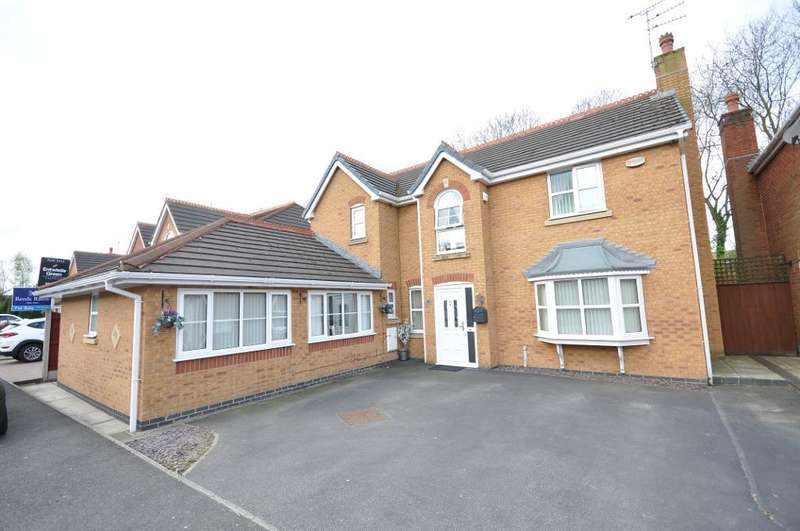 5 Bedrooms Detached House for sale in Smithford Walk, Tarbock Green, Prescot, Merseyside, L35 1SF