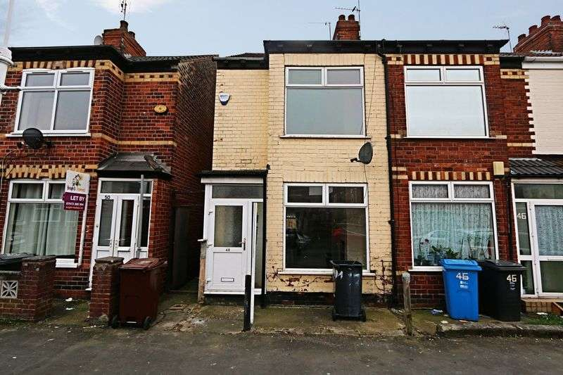 2 Bedrooms Terraced House for sale in Hampshire Street, Hull