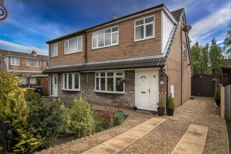 3 Bedrooms Semi Detached House for sale in Thornfield, Much Hoole, Preston, PR4 4HE
