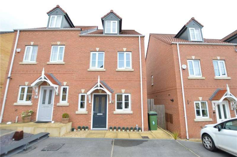 3 Bedrooms Semi Detached House for sale in Springfield Rise, Lofthouse, Wakefield, West Yorkshire
