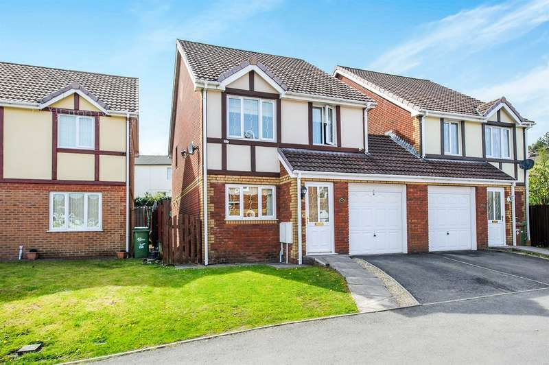 3 Bedrooms Semi Detached House for sale in North Rising, Pontlottyn, Bargoed