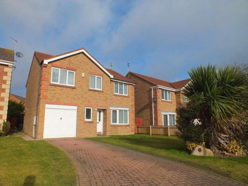 4 Bedrooms Detached House for sale in Dewberry Close, Blyth