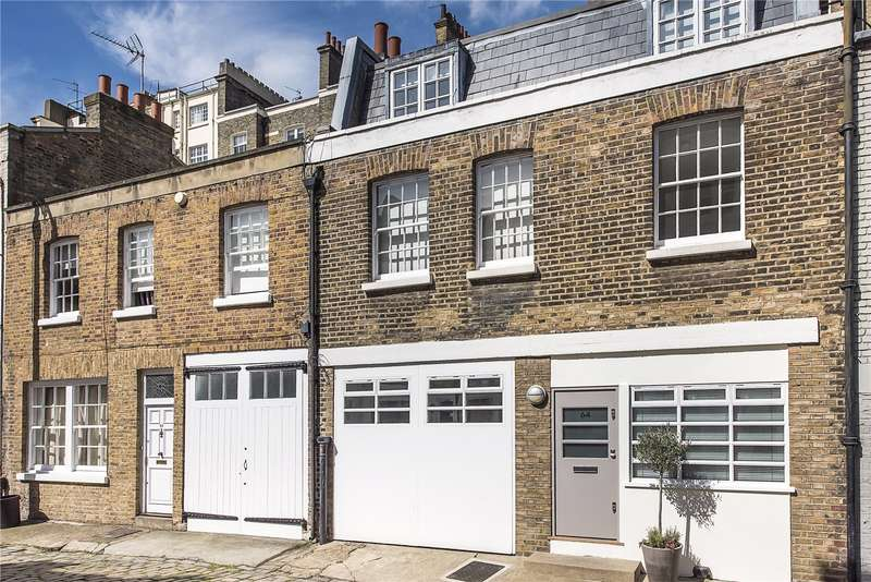 4 Bedrooms House for sale in Eccleston Square Mews, London, SW1V