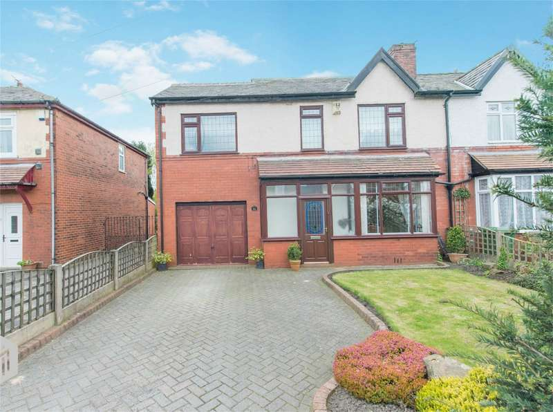 4 Bedrooms Semi Detached House for sale in Manchester Road, Over Hulton, Bolton, Lancashire