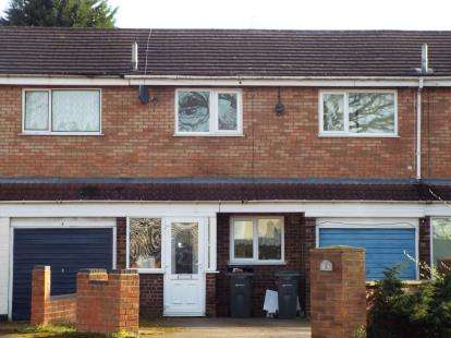 3 Bedrooms Terraced House for sale in Mayfair Close, Kingstanding, Birmingham, West Midlands