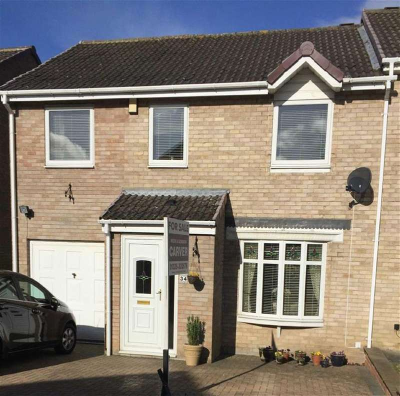 4 Bedrooms Semi Detached House for sale in Hurworth Hunt, Newton Aycliffe, County Durham