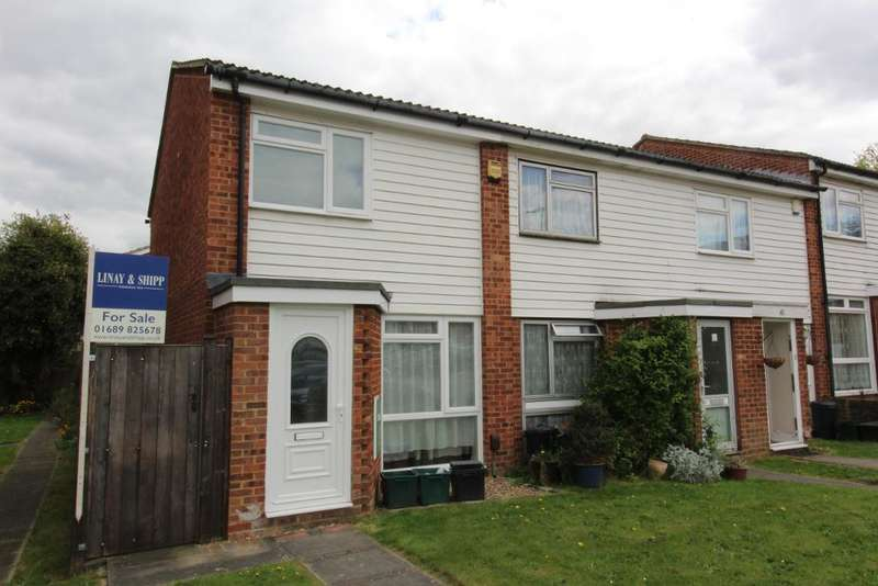 2 Bedrooms End Of Terrace House for sale in Killewarren Way, Orpington, Kent, BR5 4DH