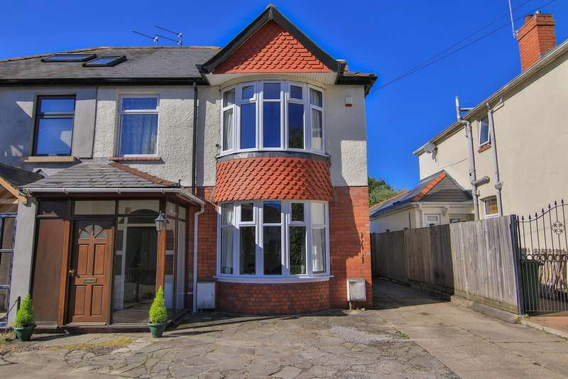 3 Bedrooms Semi Detached House for sale in Thornhill Road, Rhiwbina, Cardiff
