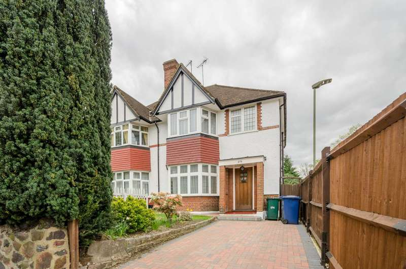 4 Bedrooms Semi Detached House for sale in Nether Street, Finchley Central, N3