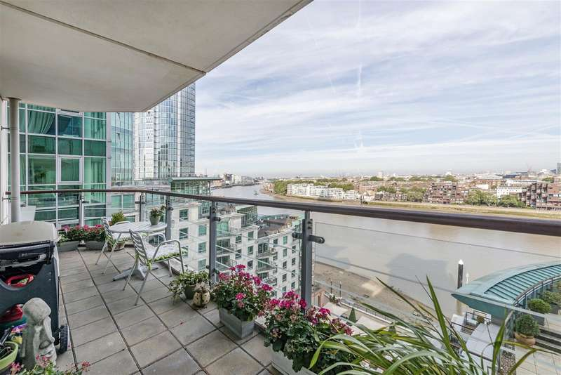 3 Bedrooms Flat for sale in Flagstaff House, 10 St George Wharf, Nine Elms, London SW8