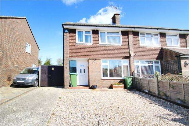 3 Bedrooms Semi Detached House for sale in Old Worthing Road, East Preston, West Sussex, BN16