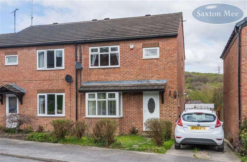 3 Bedrooms Semi Detached House for sale in Rowborn Drive, Oughtibridge, Sheffield, S35