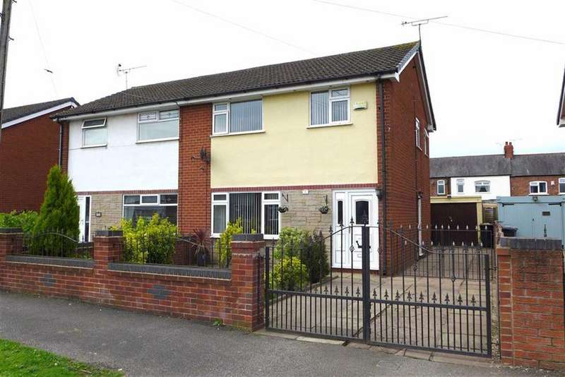 3 Bedrooms Semi Detached House for sale in Monks Lane, Crewe