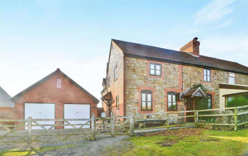4 Bedrooms Semi Detached House for sale in The Titrail, Clee Hill, Ludlow, Shropshire