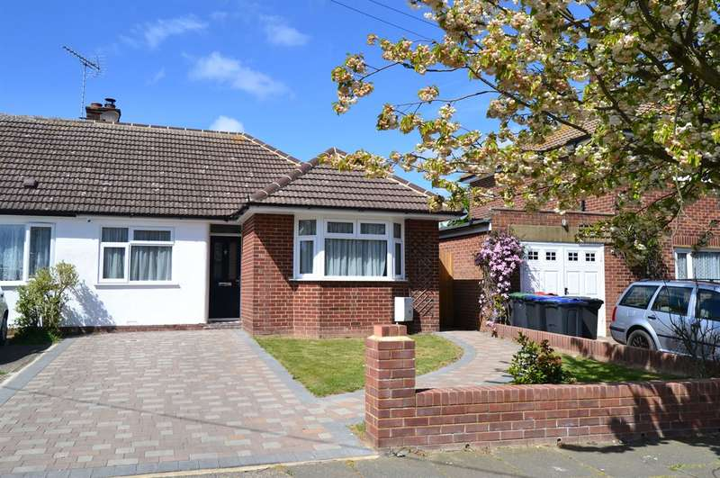 2 Bedrooms Semi Detached Bungalow for sale in Newton Road, Tankerton, Whitstable