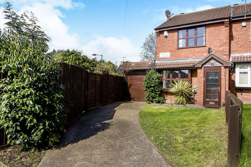 2 Bedrooms Semi Detached House for sale in Laburnum Gardens, Nottingham, NG6