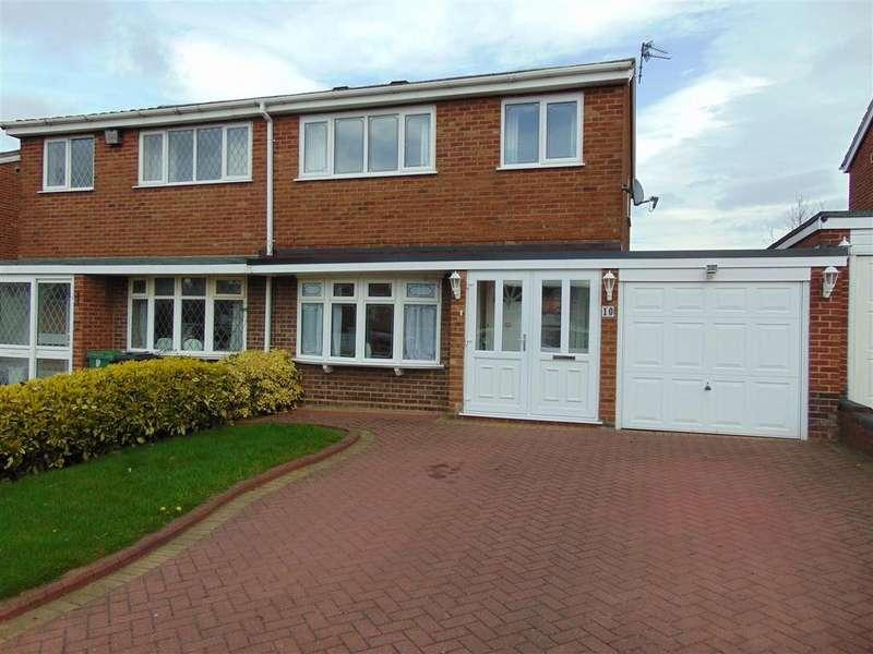 3 Bedrooms Semi Detached House for sale in Bankside Way, Aldridge