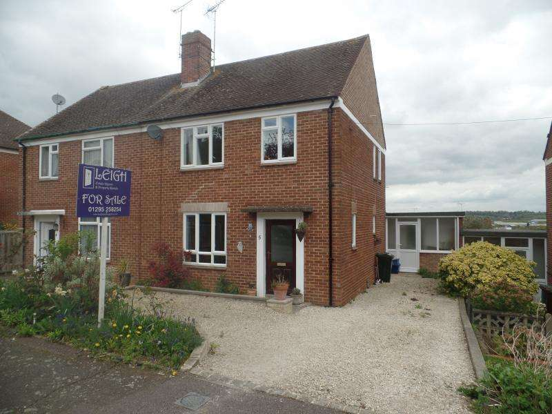3 Bedrooms Semi Detached House for sale in Lime Avenue, BANBURY, OX16