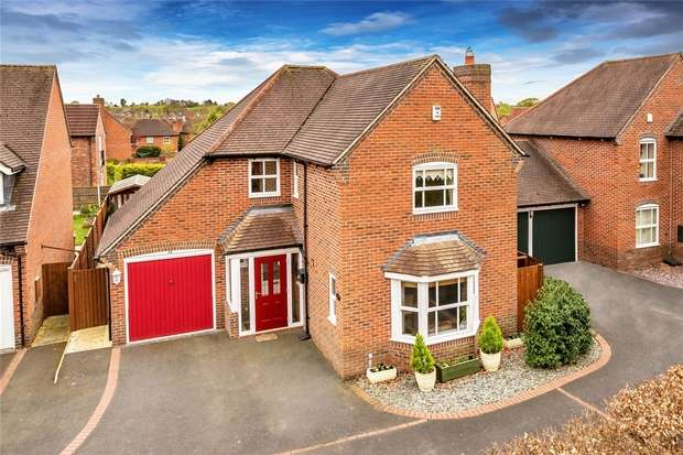 4 Bedrooms Detached House for sale in 19 Merganser Close, Apley, Telford, Shropshire