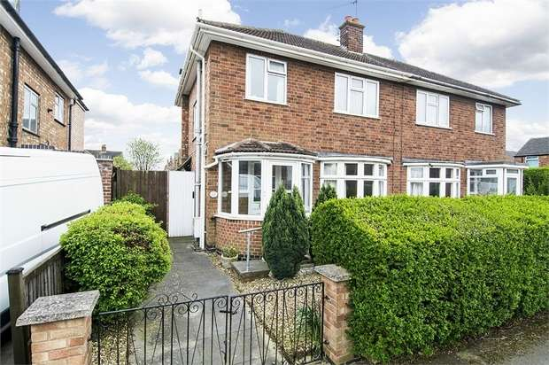 3 Bedrooms Semi Detached House for sale in Bath Street, Market Harborough, Leicestershire