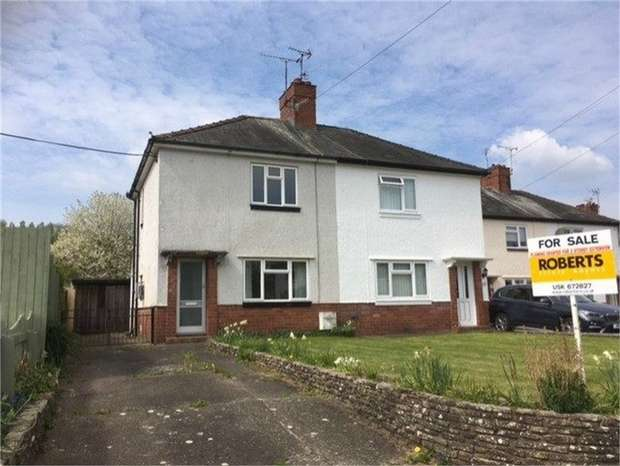 3 Bedrooms Semi Detached House for sale in Mill Street, USK