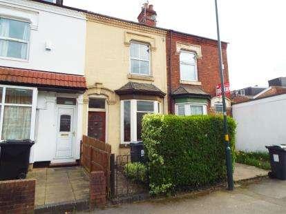 3 Bedrooms Terraced House for sale in Croydon Road, Bournbrook, Birmingham, West Midlands