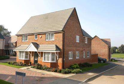 4 Bedrooms Detached House for sale in Saxon Rise, Northampton Road, Brixworth