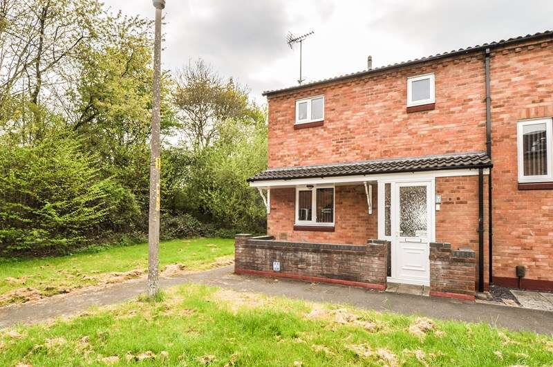 2 Bedrooms End Of Terrace House for sale in Arley Close, Church Hill South, Redditch