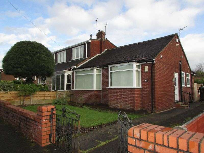 2 Bedrooms Semi Detached Bungalow for sale in Oakbank Avenue, Oldham