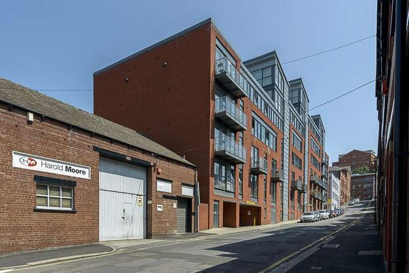 2 Bedrooms Flat for rent in Mandale House, Bailey Street, Sheffield, S1 4AD