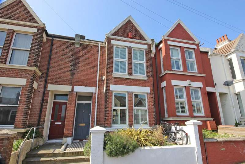 3 Bedrooms Terraced House for sale in Hollingbury Road, Brighton bn1