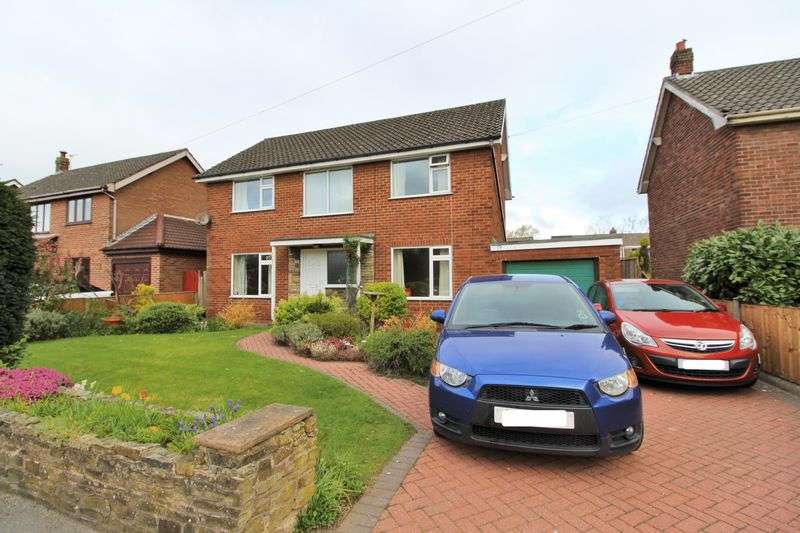 4 Bedrooms Detached House for sale in Whiterails Drive, Ormskirk