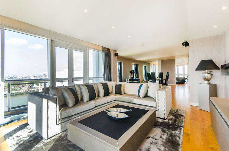 3 Bedrooms Flat for sale in Eaton House, Canary Wharf, E14