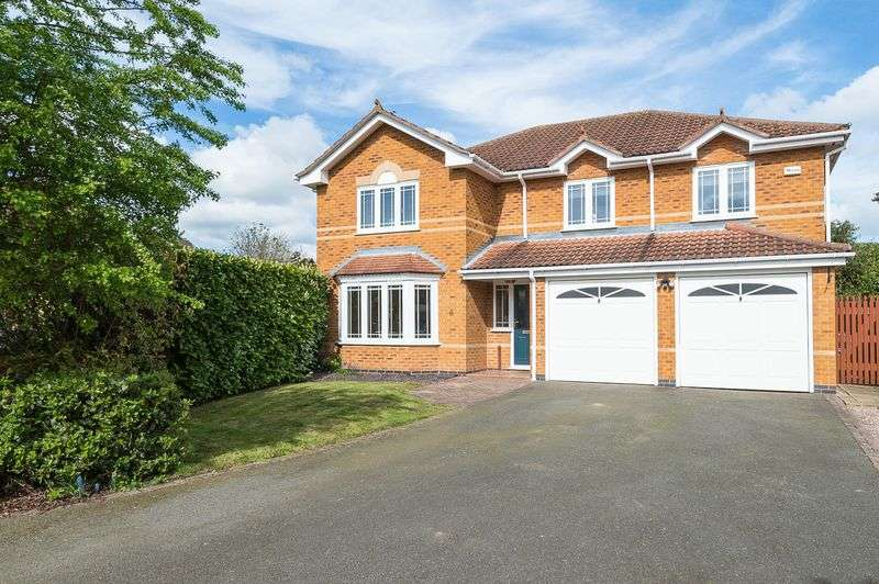 5 Bedrooms Detached House for sale in Hollytree Close, Loughborough